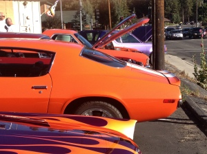 Classic Car's Get the Burger in Big Bear